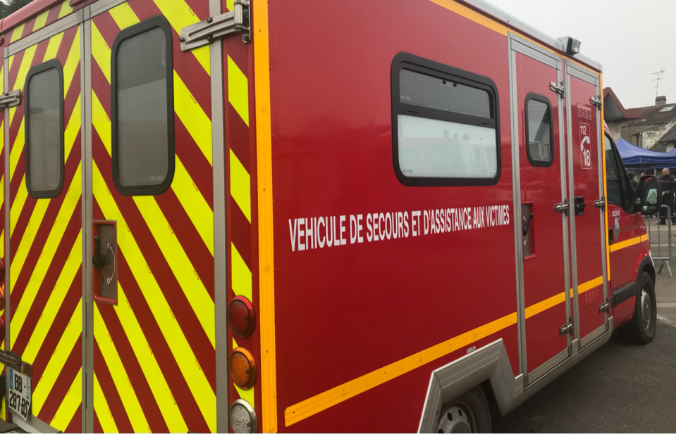 Le conducteur du VSAV avait pris soin de retirer la clé du contact - Illustration @ infoNormandie