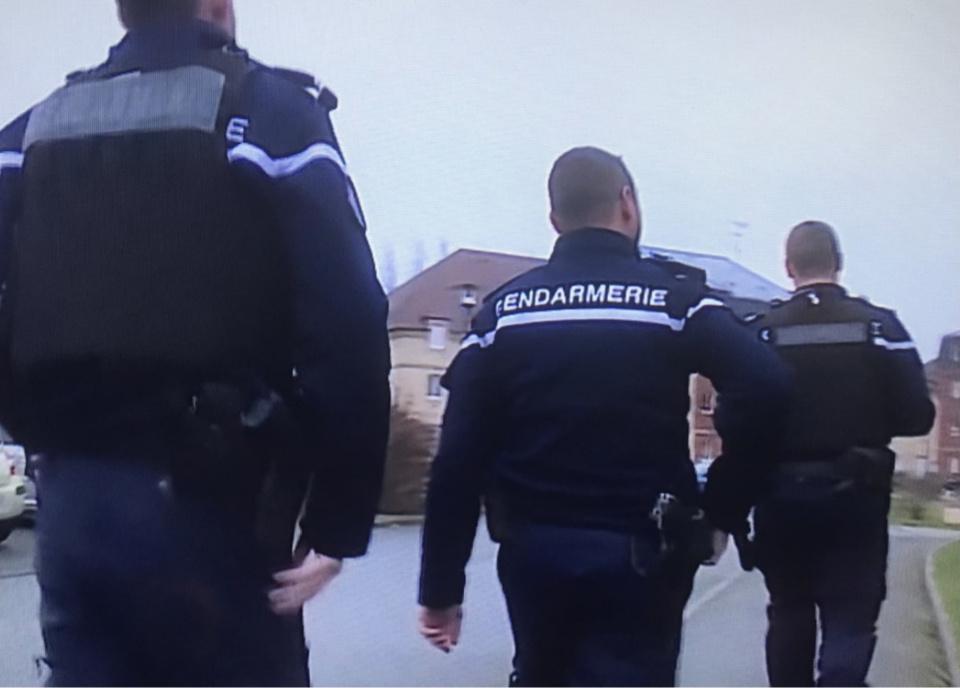Quarante gendarmes, dont ceux des pelotons de surveillance et d'intervention (Psig) de Pont-Audemer et Bernay, ont interpellé trois suspects mercredi dernier à l'heure du laitier - illustration