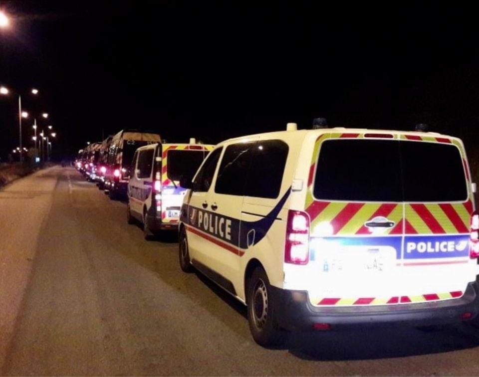 Les policiers ont dû faire appel à des renforts - Illustration © DDSP76