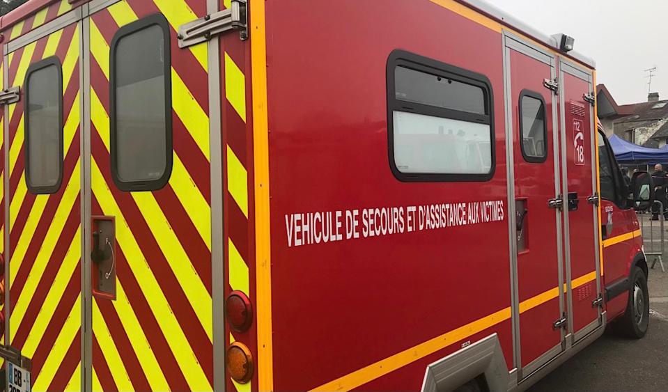 Les blessés ont été pris en charge par les sapeurs-pompiers - Illustration © infoNormandie