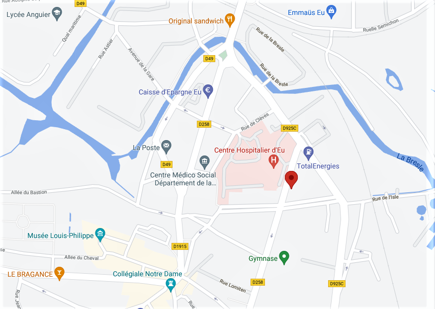 Violent incendie ce soir dans des locaux industriels à Eu, en Seine-Maritime : aucun blessé à déplorer