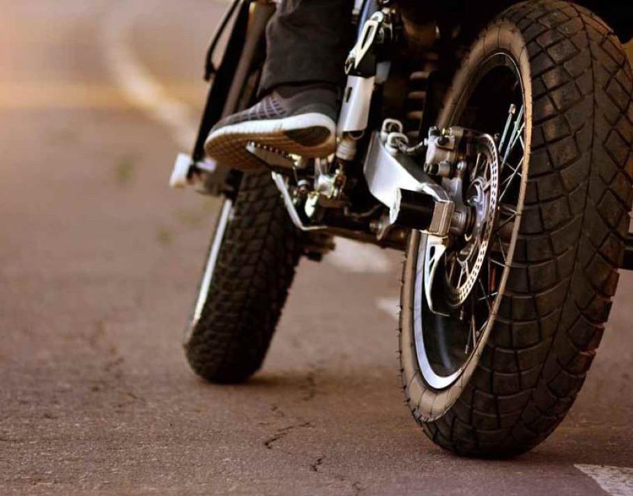 Le motard est seul en cause dans l'accident selon les secours - Illustration