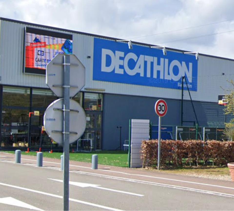 L'incident n'aura pas d'impact sur l'ouverture du magasin ce vendredi matin - Illustration @ Google Maps