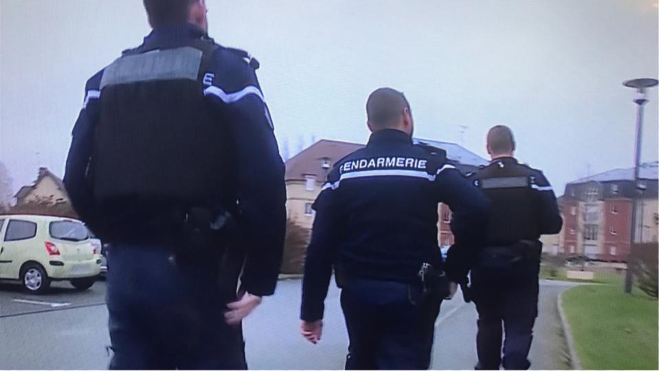 Les gendarmes continuent leurs recherches pour tenter d'identifier l,'auteur et ses complices - Illustration