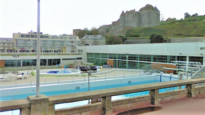 Le centre aquatique a pu rouvrir ses portes au public ce lundi en début d'après-midi - Illustration