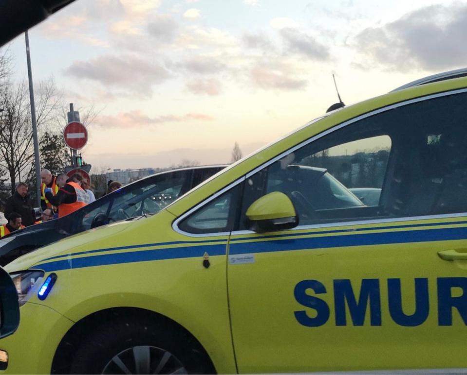 La victime a reçu les premiers soins sur place avant d'être héliporté au CHU de Rouen - illustration @ infonormandie