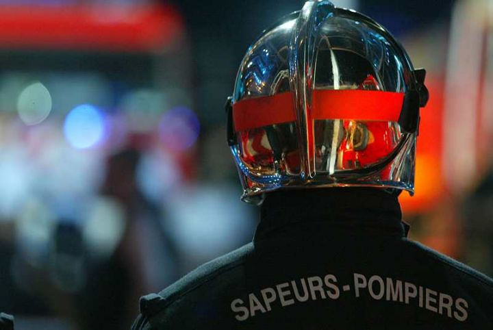 18 sapeurs-pompiers sont intervenus sur le lieu de l'affissement - Illustration © Sdis76