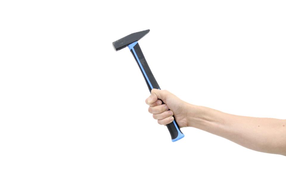 Le marteau a été retrouvé sur les lieux - Illustration @Pixabay
