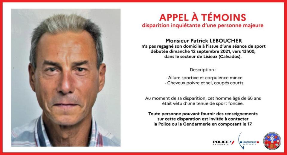 Disparition inquiétante d'un homme de 66 ans à Lisieux : un appel à témoins est lancé