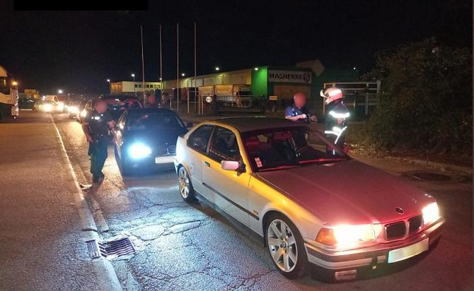 Quatre automobilistes ont été interpellés pour diverses infractions délictuelles au code de la route, dont trois pour conduite sans permis. 32 procés-verbaux ont par ailleurs été dressés - Photo © DDSP76