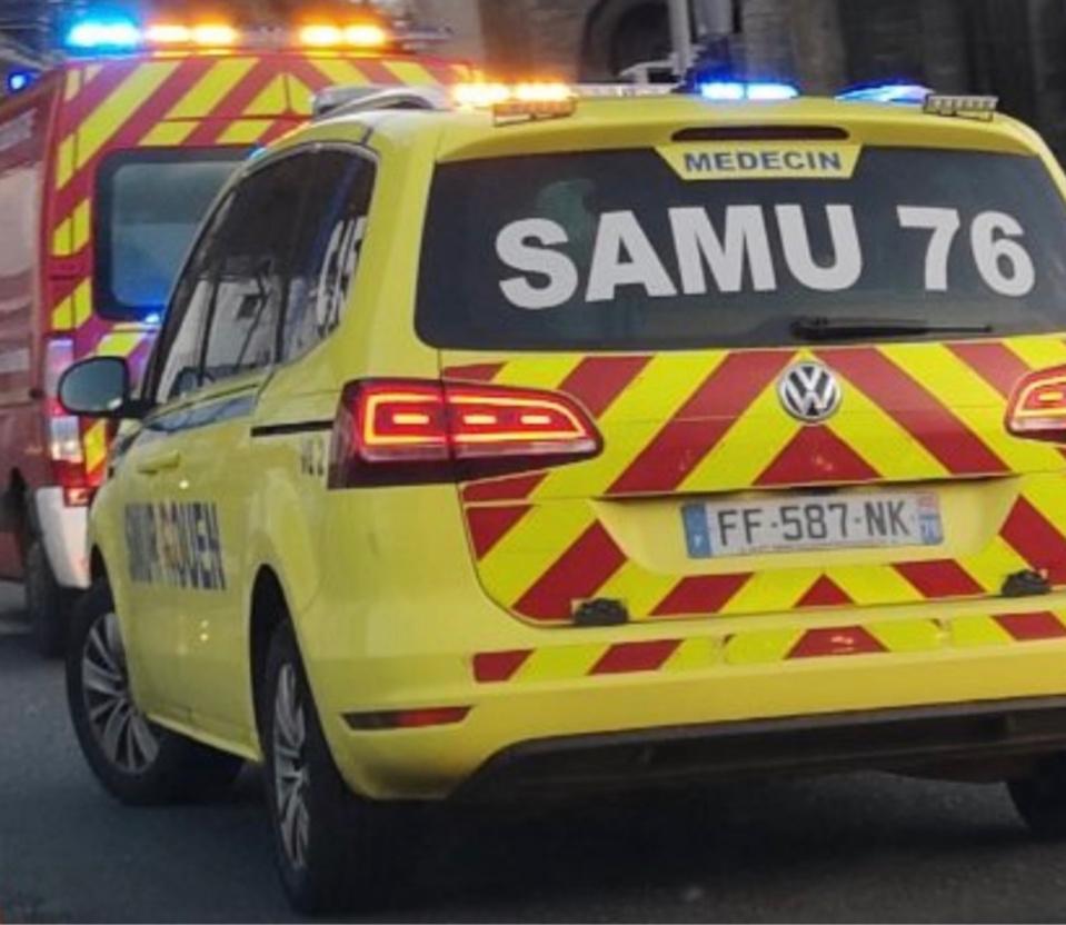 Le piéton a été pris en charge par les secours et transporté en urgence absolue à l'hôpital - illustration @ infonormandie