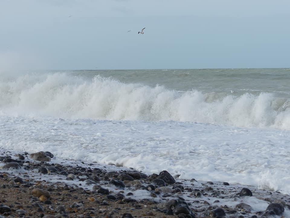 «Quelques minutes peuvent parfois suffire pour être isolé par la marée montante», rappelle l'autorité maritime. Photo @ I.C.