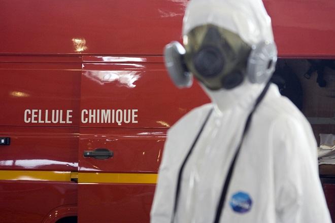 Une équipe de la cellule risque chimique du Sdis76 est intervenue - Illustration © Adobe Stock