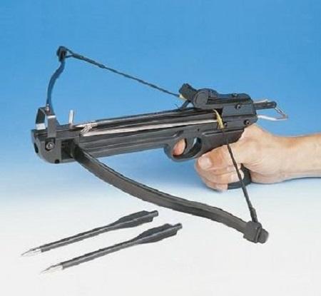 Il existe de nombreux modèles d'arbalètes. Il s'agit d'une arme très dangereuse, dont les flèches peuvent tuer (photo d'illustration)