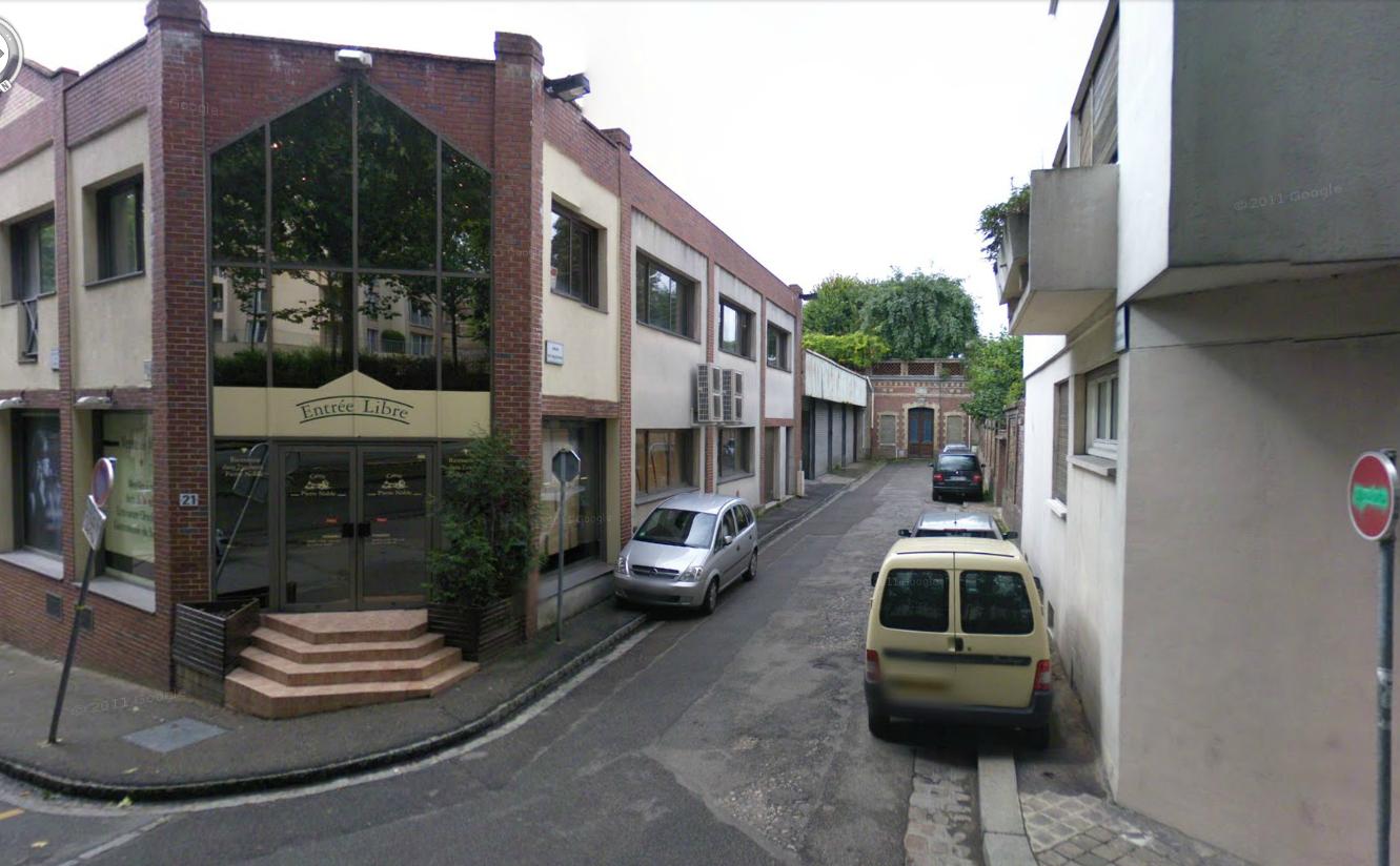 """L'impasse des Arquebusiers serait un """"refuge"""" pour les prostituées selon les riverains (@Google Maps)"""