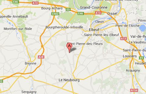 Tourville-la-Campagne est un village d'à peine 900 habitants situé dans le canton d'Amfreville-la-Campagne