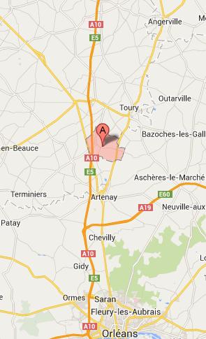 L'A10 coupée dans l'Eure-et-Loir en direction d'Orléans