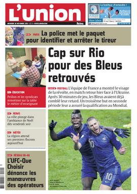 """L'exploit des Bleus à la """"Une"""" de la presse régionale"""