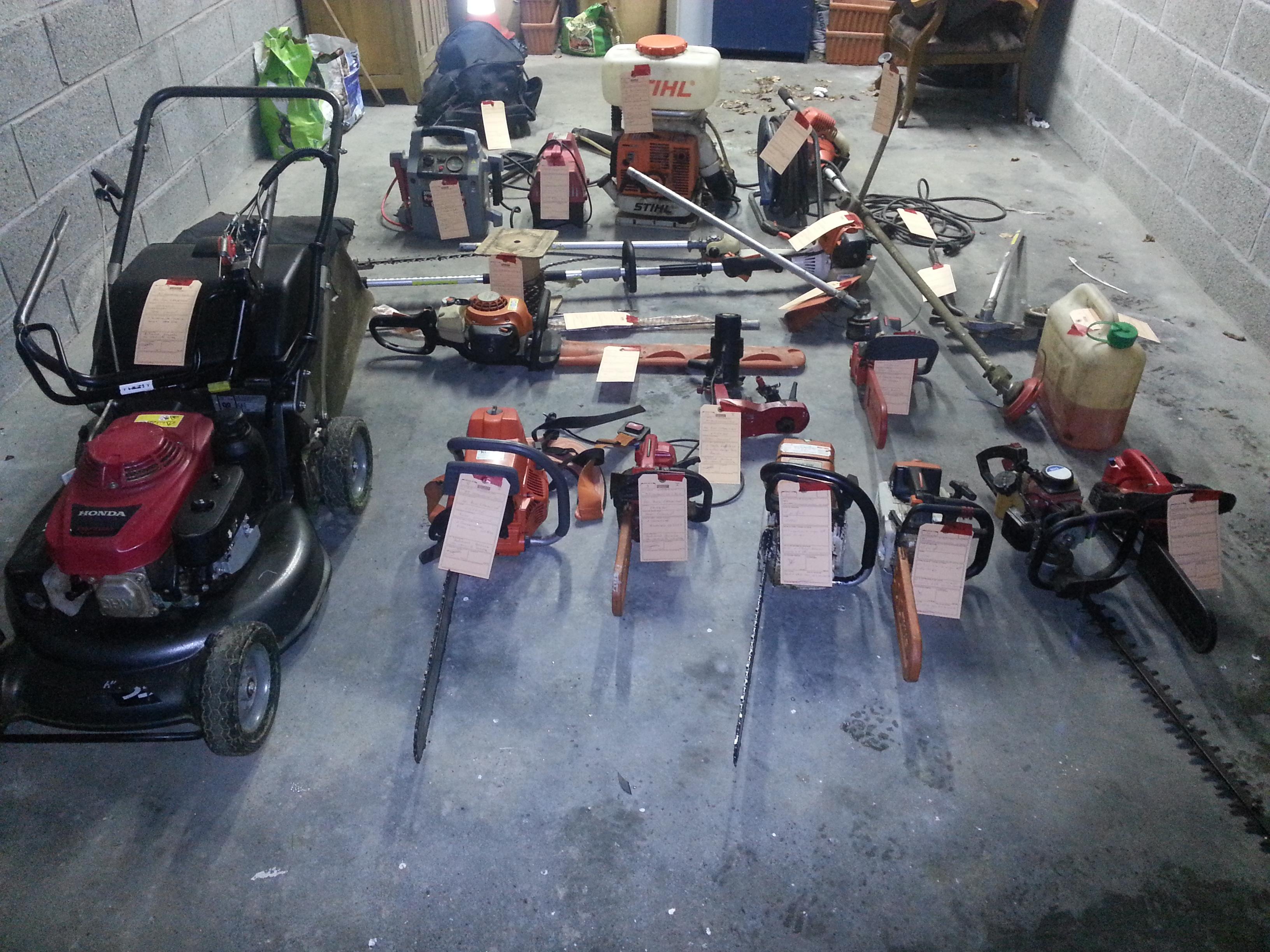 Le matériel volé a été restitué à l'EPISAJ de Bacqueville-en-Caux par les gendarmes