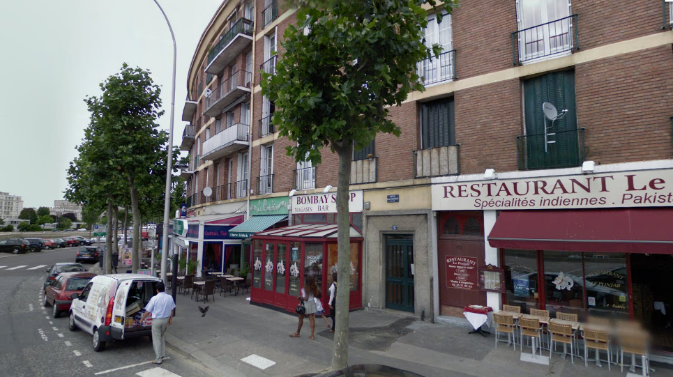 Le drame est survenu vendredi matin dans l'escalier des parties communes de cet immeuble situé 5, rue du Général Faidherbe, au Havre @Google Maps