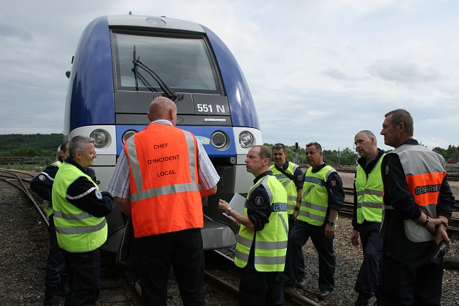 Des formations aux risques ferroviaires sont dispensées aux gendarmes (Photo d'illustration @ajecta.org)