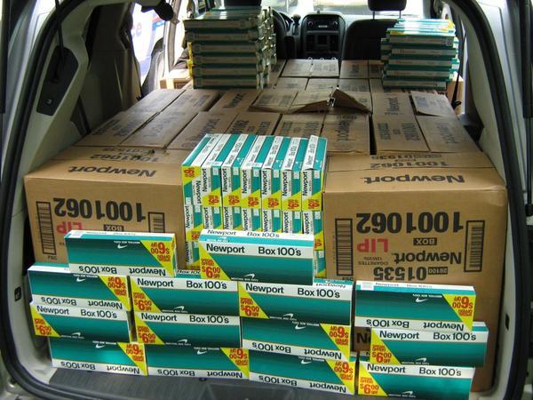 Dans le camion dérobé à Montivilliers par les braqueurs, il y avait pour 600 000 euros de cigarettes (Photo d'illustration)