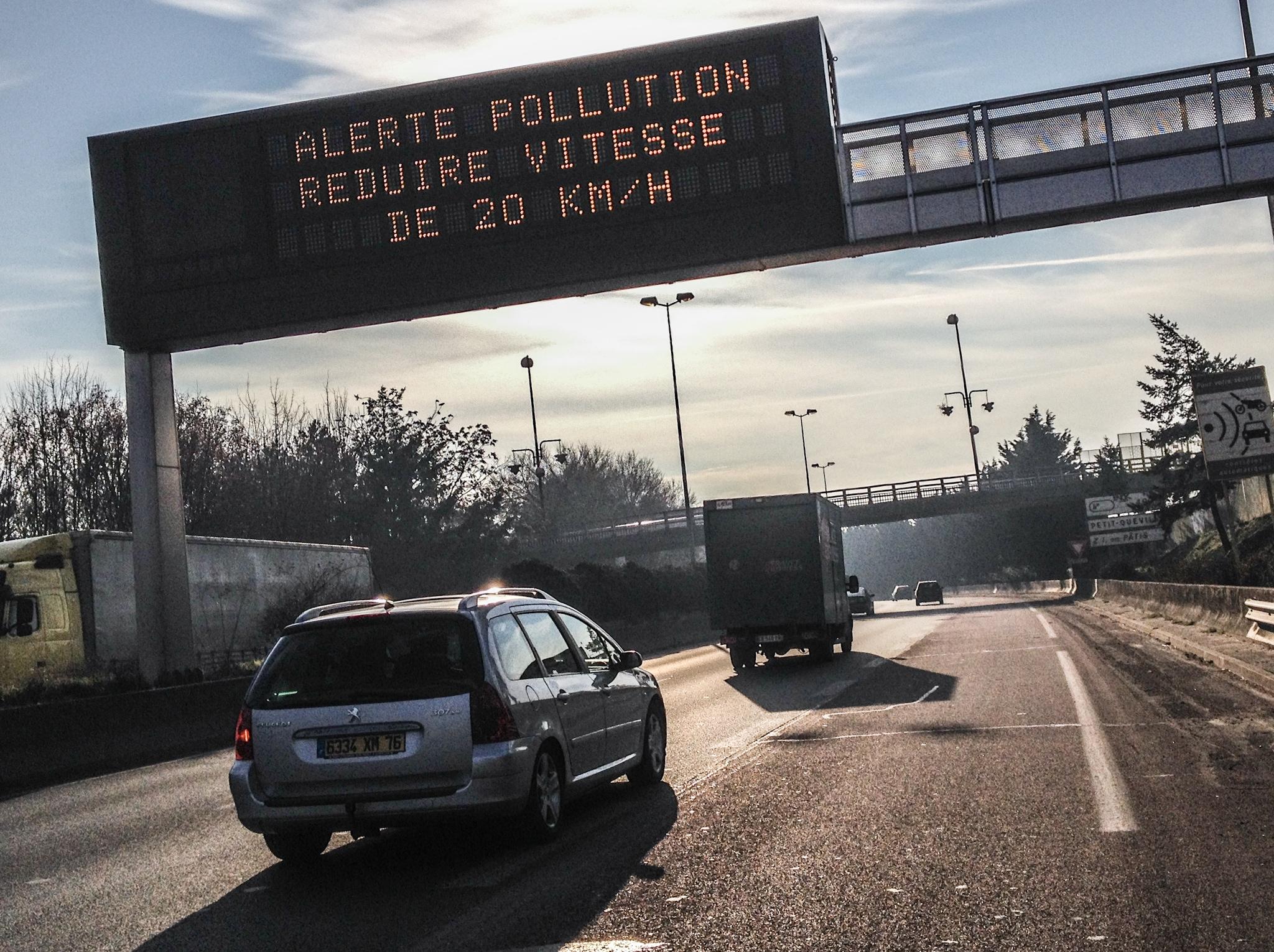 Réduire sa vitesse de 20 km/h est la recommandation du préfet (Photo @infonormandie)