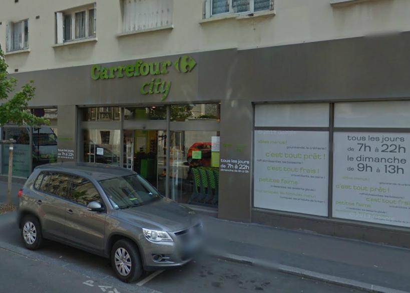 Braquage dans un Carrefour City du Havre : la caissière choquée a été hospitalisée