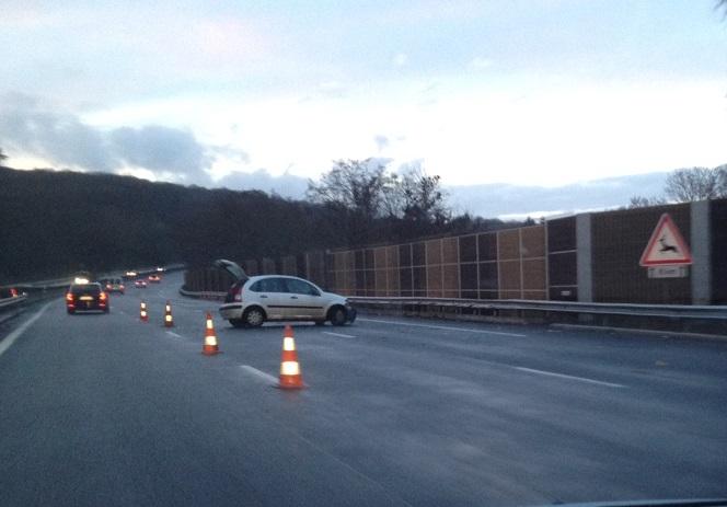 Accident : l'A13 bloquée après le péage de Mantes en direction de Rouen