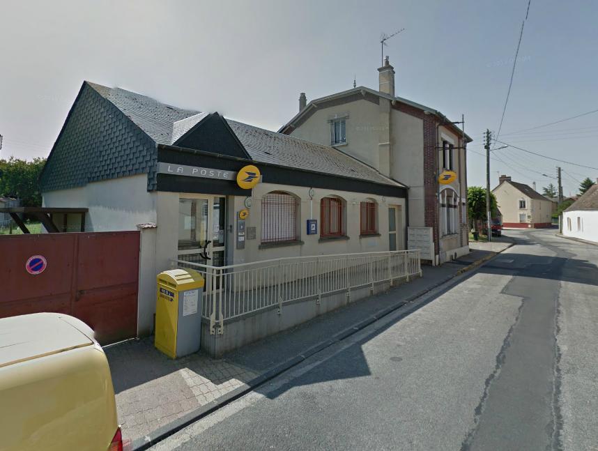 Le bureau de poste de La Couture-Boussey est située dans un endroit isolé, Grande rue (@Google Maps)