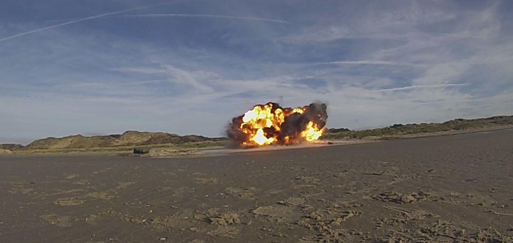 La bombe a été détruite ce mercredi par les plongeurs-démineurs de la Marine nationale (Photo : Marine nationale)