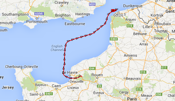 Le chimiquier  turc qui a appareillé de Port Jérôme ce mercredi vers 12 h 30 est actuellement dérouté vers le port de Dunkerque. A 23 h 46, il se situait à hauteur de Calais (carte).