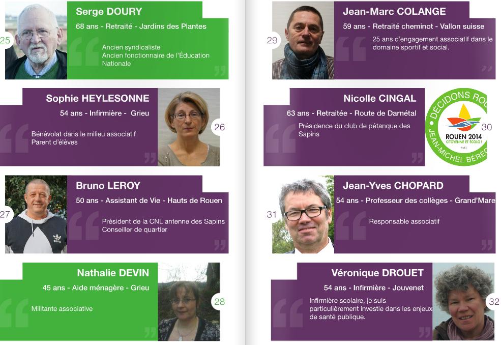 Jean-Michel Bérégovoy dévoile les 55 noms (et visages) de la liste Décidons Rouen
