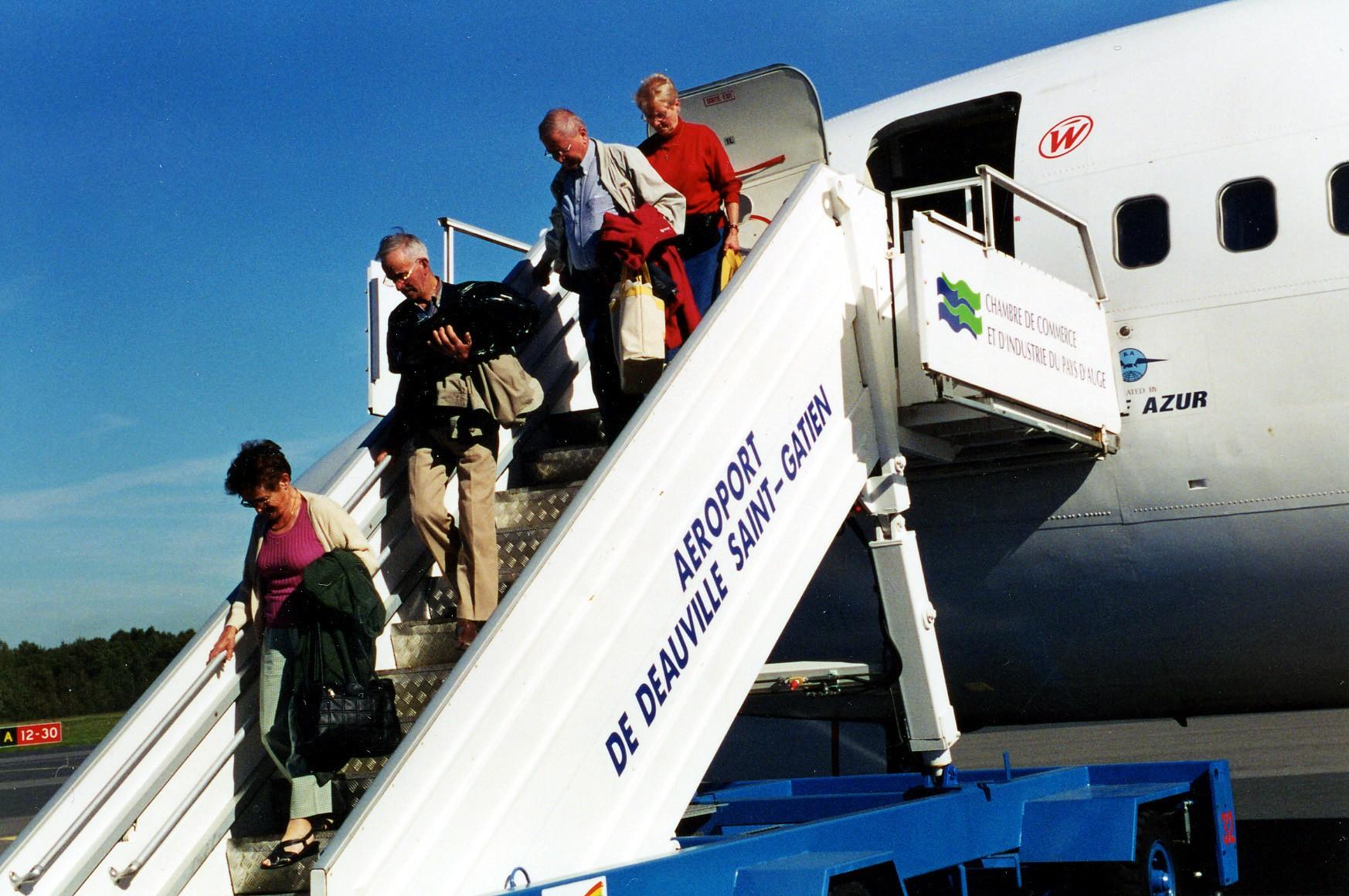 Avec 138 554 passagers enregistrés au départ de Deauville 2013, l'aéroport de Deauville Normandie confirme encore cette année sa position de premier aéroport interrégional (Photo d'illustration)