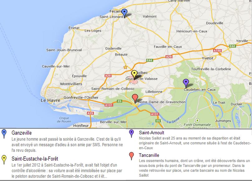 Cliquez ici pour afficher la carte interactive @InfoNormandie/Google Maps