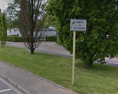 Sept voitures endommagées par un incendie sur le campus de Mont-Saint-Aignan