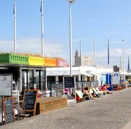 Dix huit commerces seront ouverts durant toute la saison touristique, à partrir de samedi 22 mars (Photo :Ville du Havre)