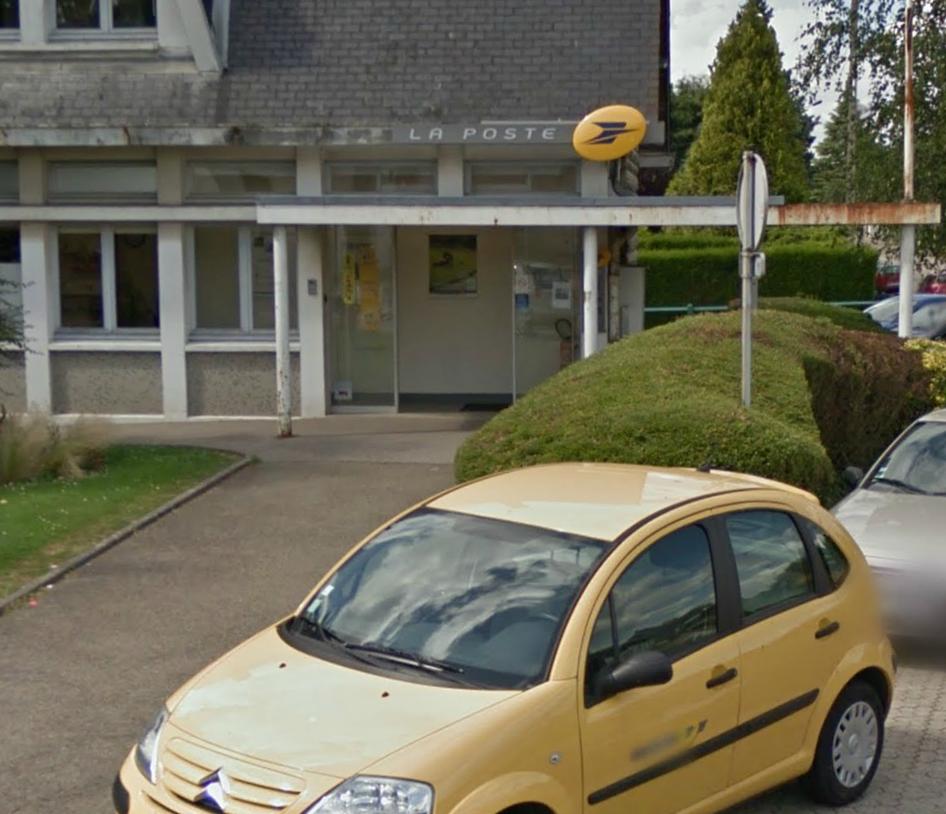 Le bureau de poste de Bonsecours, avenue José Maria de Hérédia @Google Maps