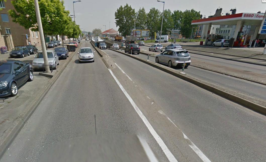 L'accident s'est produit sur la voie d'accès de ce passage soutterrain, face au 15, boulevard Winston Chruchill (Photo d'illustration)