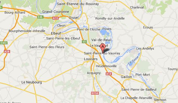 Deux employés et une cliente frappés par un commando de malfaiteurs au cours d'un hol-up à Saint-Pierre-du-Vauvray