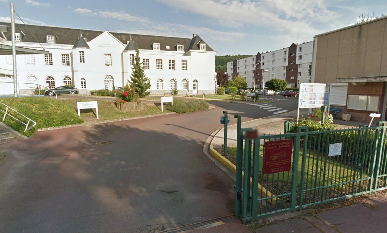 Le centre hospitalier Durécu-Lavoisier à Darnetal qui abrite la maison de retraite spécialisée où l'octogénaire était accueilli depuis quelques mois (@Google Maps)