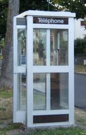 La cabine d'où étaient passés les appels a été facilement localisable par les policiers (Photo d'illustration)