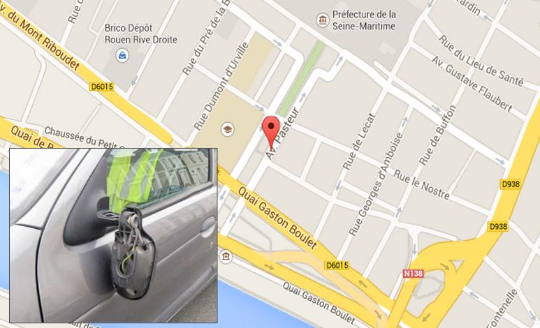 Les habitants du quartier Pasteur, à deux pas de la préfecture de Seine-Maritime, ne veulent plus être victimes de ce vandalisme gratuit (Photo d'illustration)