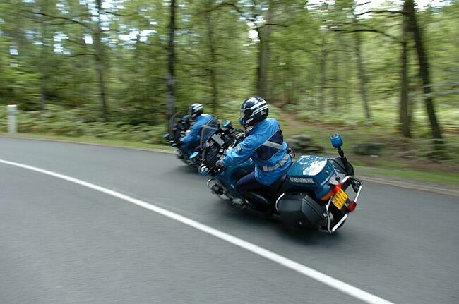 Samedi, au Havre, une sortie de route de 120 km avec les motards de la gendarmerie