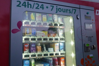 Le voleur avait un mode opératoire simple mais bien rodé pour vider les monnayeurs des distributeurs de préservatifs (Photo d'illustration)