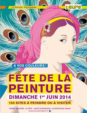 Fête de la peinture dans l'Eure : tous à vos pinceaux dimanche 1er juin