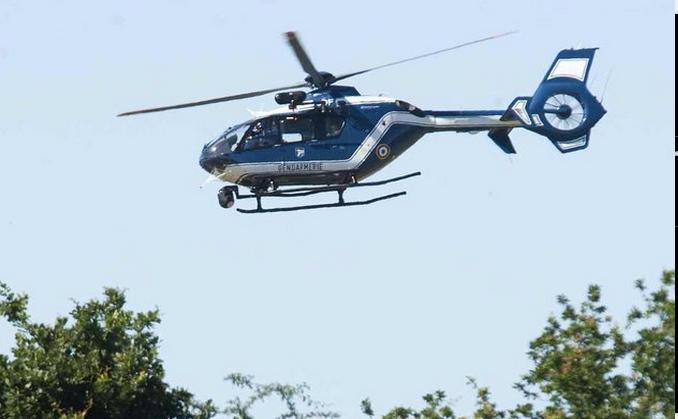Les recherches depuis l'hélicoptère de la gendarmerie n'ont donné aucun résultat (Photo d'illustration)