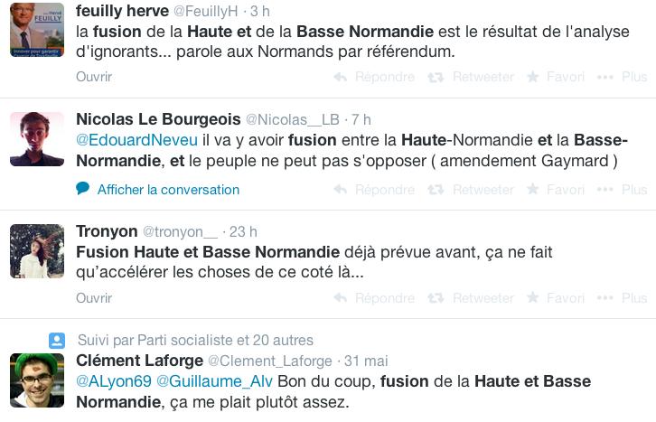 La Haute et la Basse Normandie regroupées en une seule région selon le voeu de François Hollande