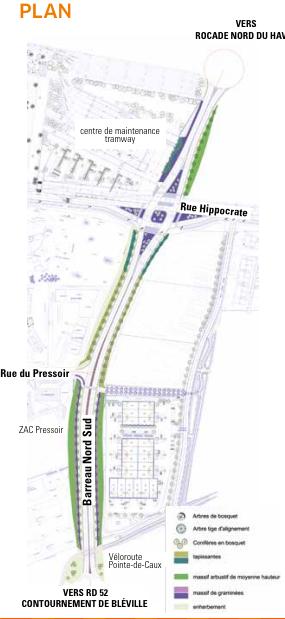 Liaison routière nord-sud au Havre : premier coup de pioche cet été