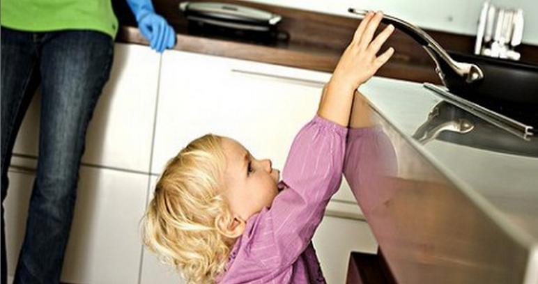 Chaque année en France, 250 enfants décèdent à la suite d'un accident domestique (Photo d'illustration)